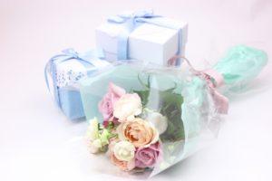 プレゼント バラの花束