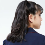 小学生 女の子 セミロング 髪型