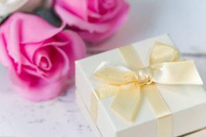 プレゼント ピンクのバラ